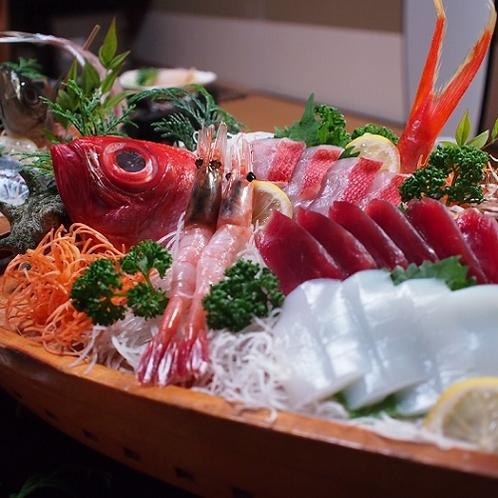 ■ご夕食 一例 【舟盛り】
