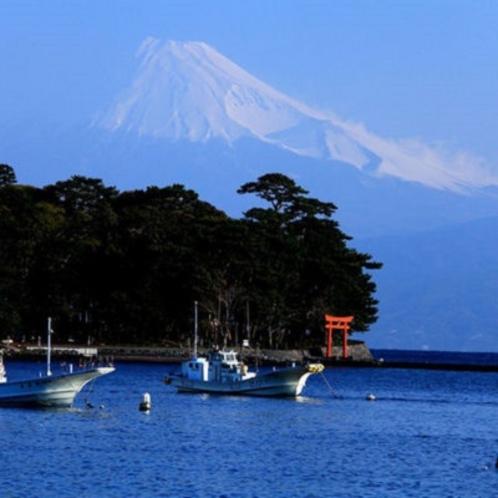 ■戸田港から望む富士③