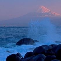 ■戸田港から望む富士②