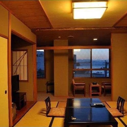 ■和室(10~12畳) 縁側付客室一例④