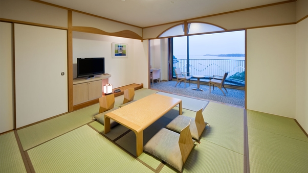 【海側】 和室12畳 50m2 定員6名 ◇禁煙◇