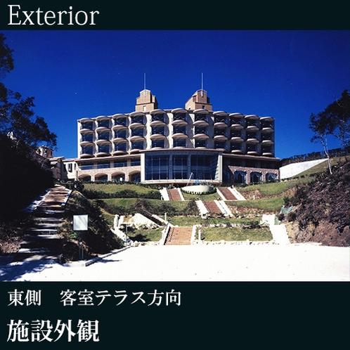 ◇施設外観(東側 客室テラス方向)B