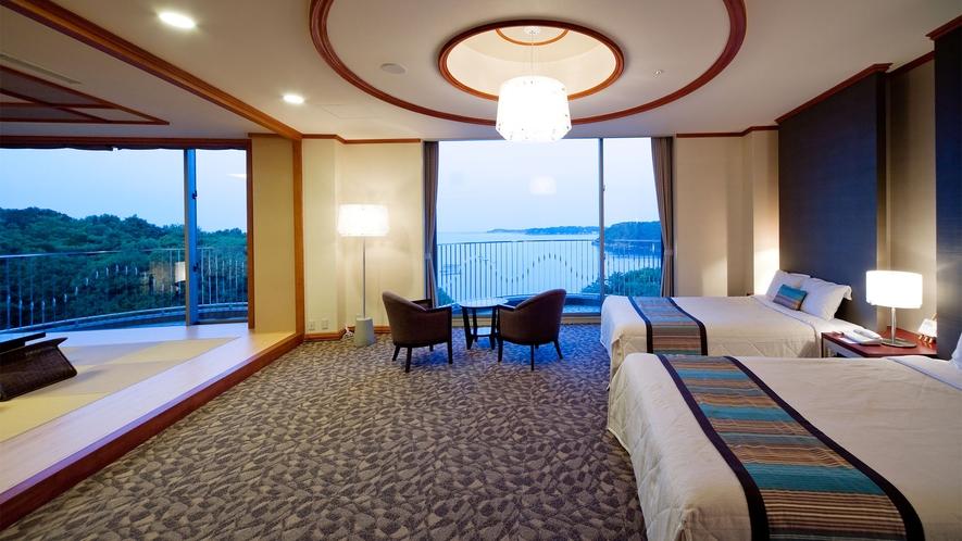 ◆【海側】特別和洋室(DXルーム) 80m2 定員7名 ◇禁煙◇(4)