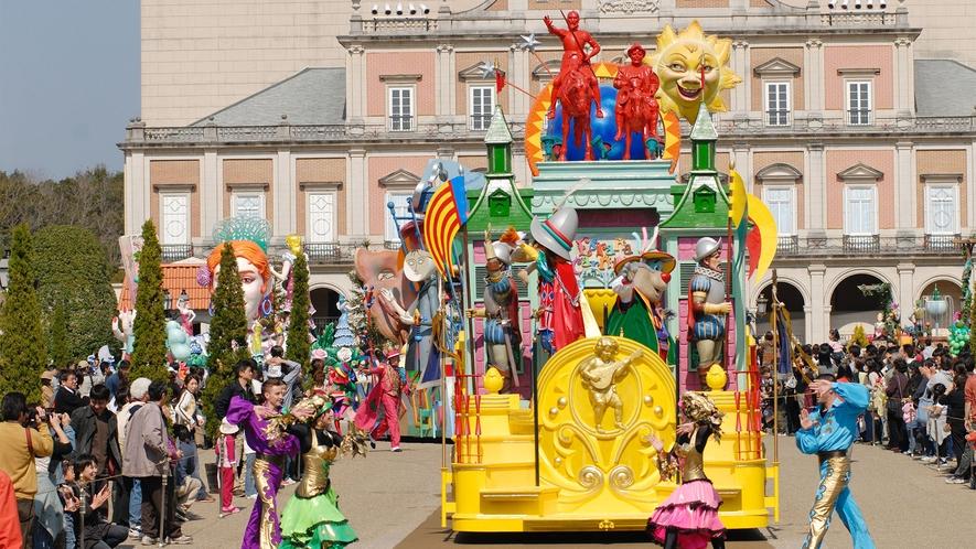 ◆志摩スペイン村(パレードの光景)