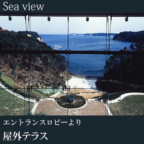 ◇屋外テラス(エントランスロビーより)A