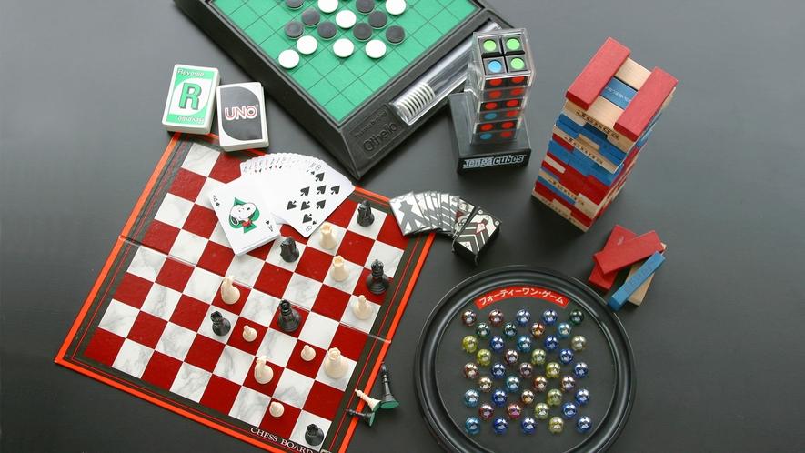 ◆ゲーム各種(麻雀以外は無料)
