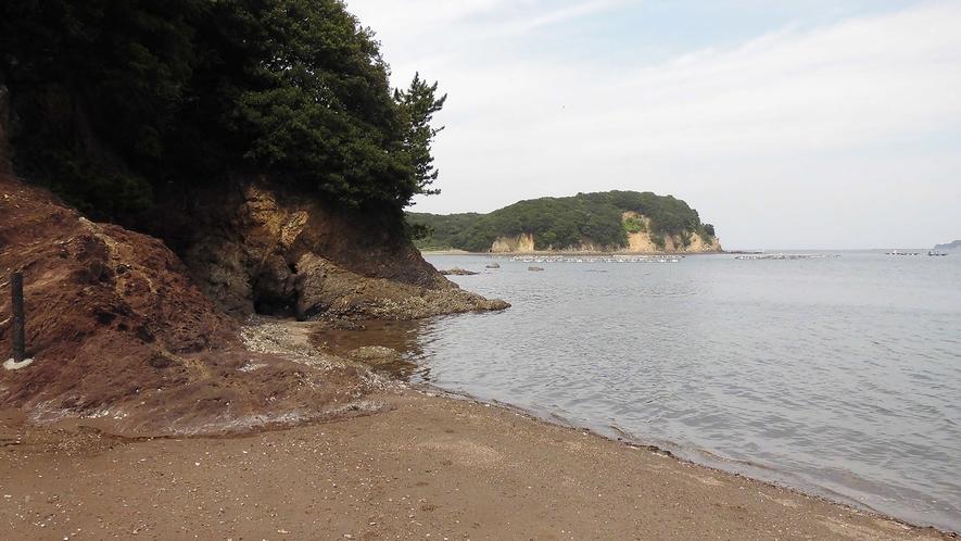 ◆敷地内の砂浜(磯遊びが楽しめます)B