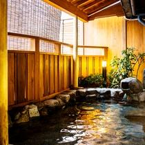 お昼の露天風呂☆