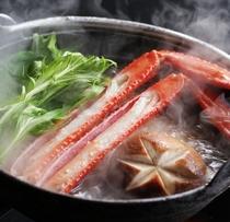 香住ガニのすき鍋