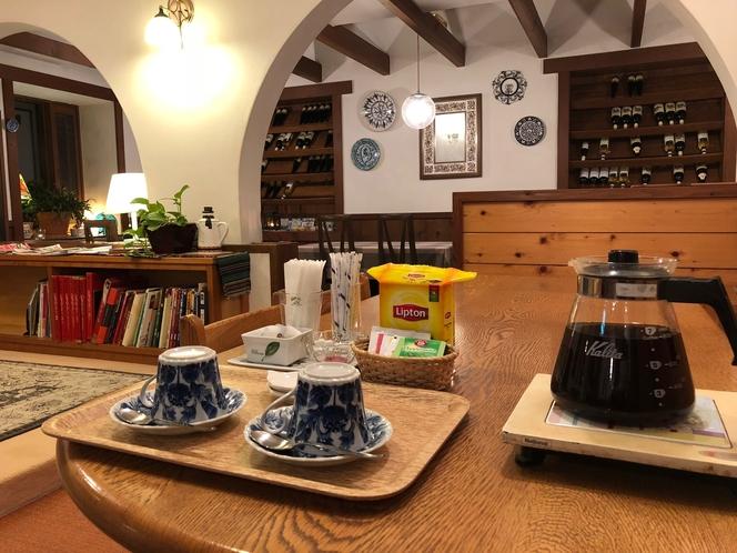 コーヒーサービス 21:30~