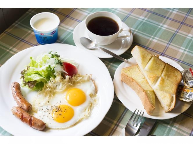 朝食 巣籠卵