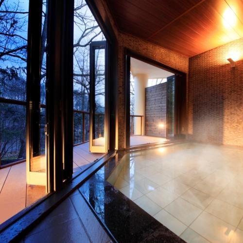 ●中軽井沢では珍しい温泉をお愉しみいただけます。