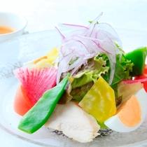 【Dinner】Light フレンチコース/サラダ※一例