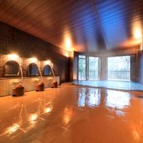 広々とした洗い場【風呂】大浴場