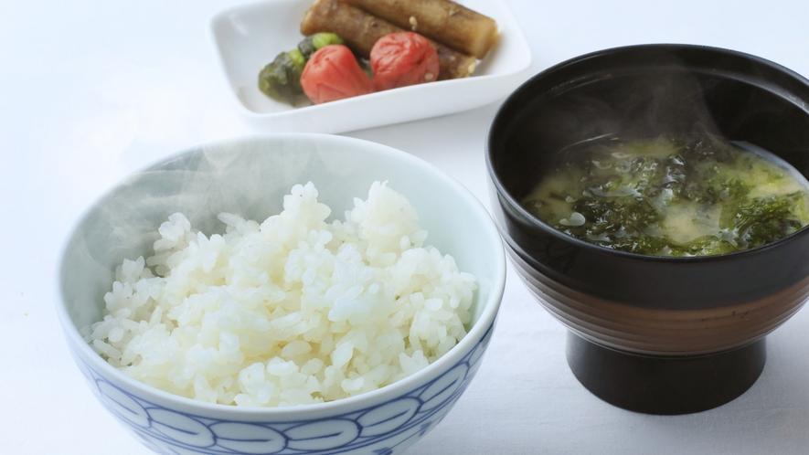 ■「ご朝食」ご飯のご用意もございます。