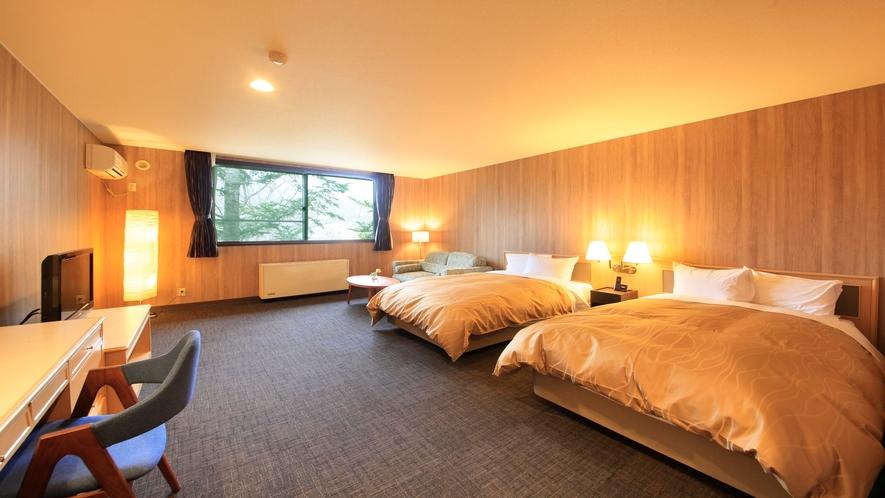 ■「スタンダードツイン」お部屋によりデザインが異なります。