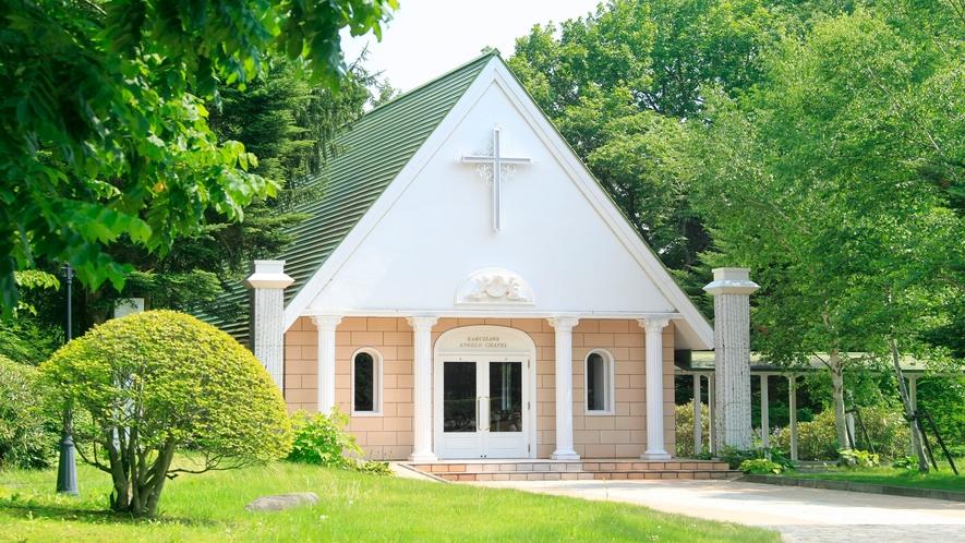 ■「教会」季節の移ろいとともに色んな姿をみせてくれます。