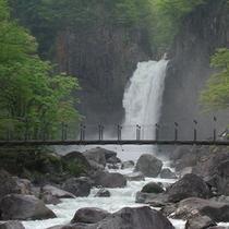 *苗名滝(当館から車で約20分)