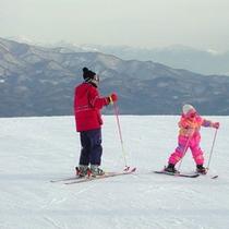 *赤倉温泉スキー場まで徒歩3分(イメージ)