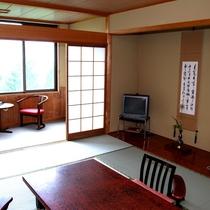 【お部屋一例】尾崎紅葉や与謝野晶子など、明治・昭和の文豪たちが愛し、滞在したという歴史ある旅館。