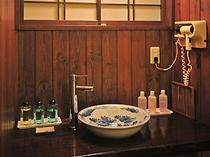 客室の洗面台