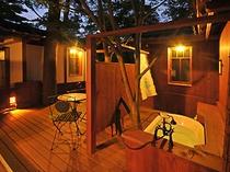 客室付き専用露天風呂