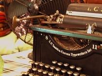 英文タイプライター