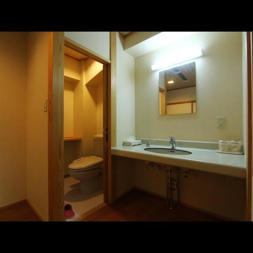 全室洗面・ウォシュレットトイレ付きの和室になります