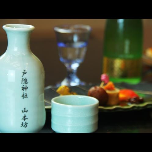 蕎麦と日本酒は合います。長野県の銘酒をご用意しています