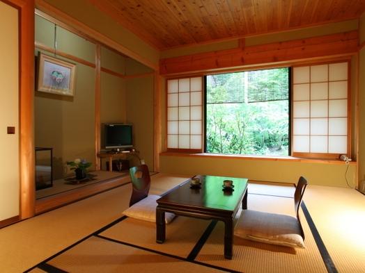 趣ある茶室を思わせる和室【織部】