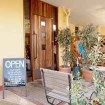 当館一階にあるcafe「イタリアン食堂良's」★もちもち麺のパスタが自慢です♪