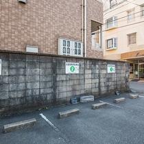 *【屋外施設(駐車場)】無料でご利用いただけます。(最大15台)