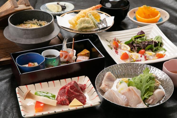 なでしこ会席 当館で一番多くの方に召し上がられている和食フルコース。