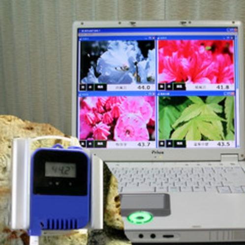 温度管理PCと温度計
