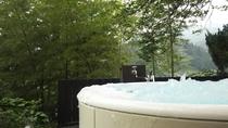 個室貸切りジャグジー風露天風呂