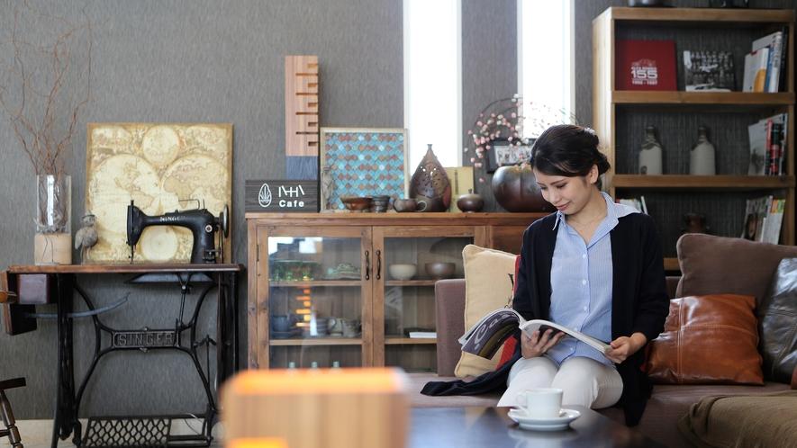 カフェとモデル3■