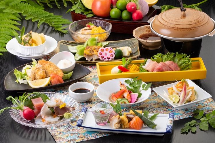 季節会席【夏】(お食事の一例)