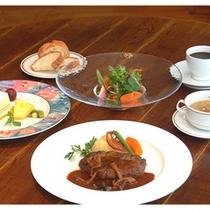 葉山牛ハンバーグディナーコース(イメージ)