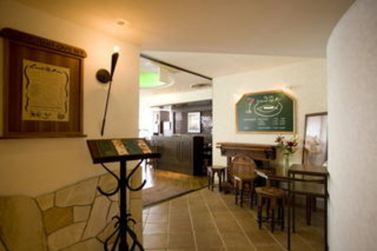レストラン玄関