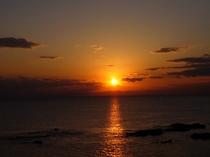 佐島マリーナからの夕陽