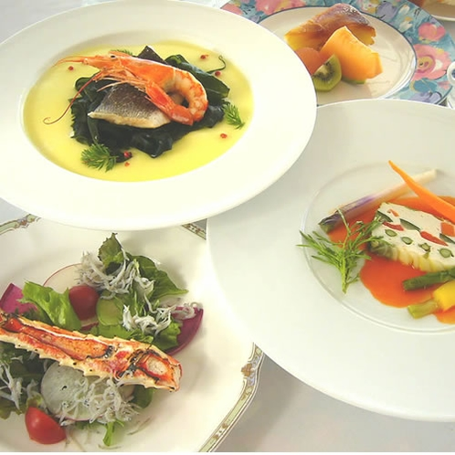 季節の鮮魚ディナーコース2017「春」イメージ