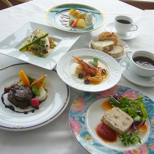 秋の味覚スペシャルディナーコース(イメージ)