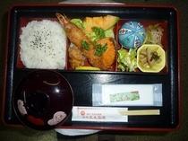 休憩プランの昼食  (一例)