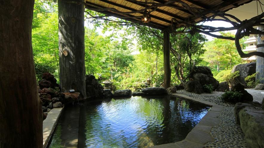 【美麗の湯】四季折々の景色を魅せる甲子高原の大自然につつまれ、癒しの時間をお過ごしください。