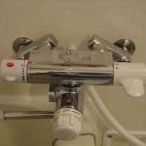 全室、サーモ付シャワー水栓