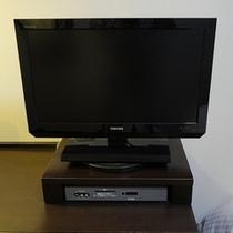 新館は、22インチのデジタル液晶TV完備!!
