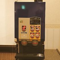 2F朝食コーナー、エスプレッソマシン