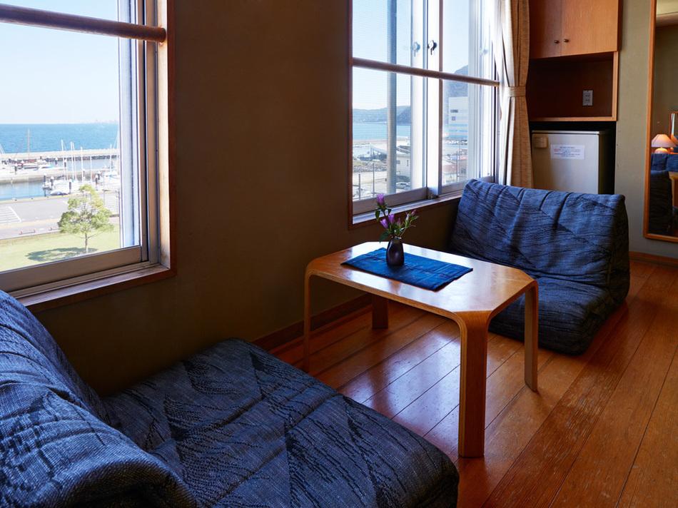 窓からの景色・新館・明亭デラックス55平米