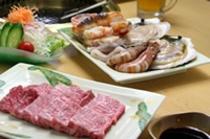 海鮮付き焼き肉