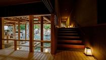 【滝の湯】湯楽里回廊